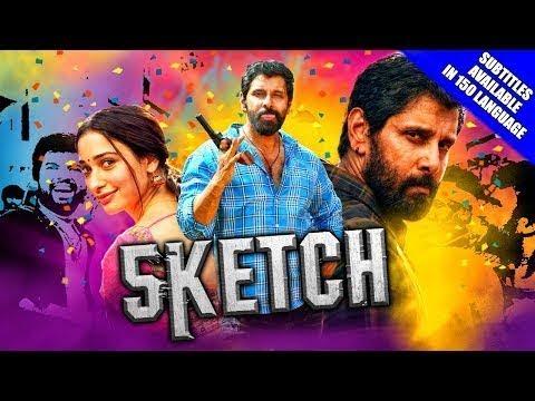 Download Sketch (2018) New Released Hindi Dubbed Full Movie | Vikram, Tamannaah Bhatia, Soori