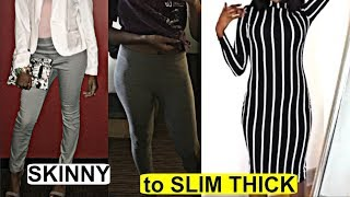 MY TRANSFORMATION Weight Gain Journey | Skinny to Fit Slim Thick 2018 w/ Apetamin