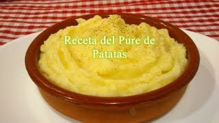 Como hacer puré de patatas, receta fácil/rápida
