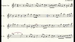 Case Closed Tenor/soprano Sax Sheet Music (opening Theme)