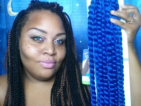 Crochet Braids Mambo Twist : NEW CROCHET BRAIDS 1ST LOOK??HAVANA MAMBO TWIST - YouTube