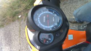 Préparation moteur Honda NSC50R - Vitesse max 75km/h