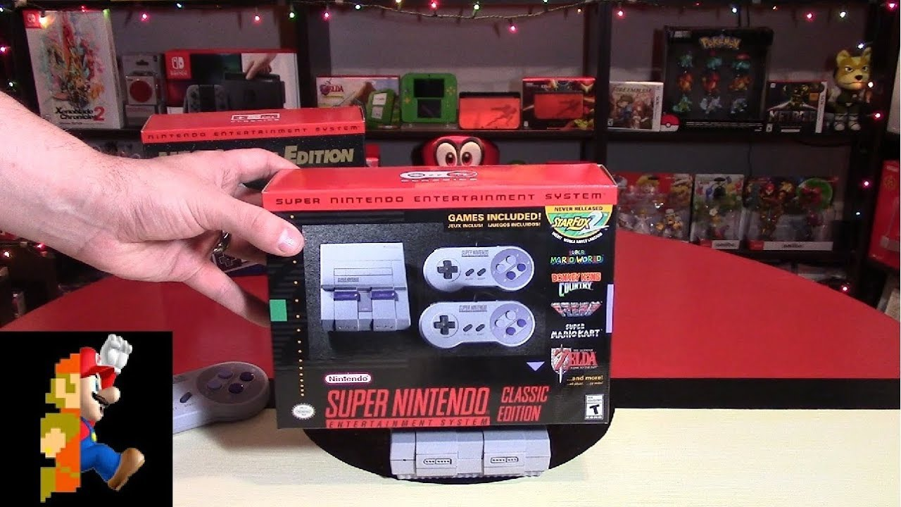 Nintendo Christmas Day 2: SNES Classic Edition (+ Fox Giveaway ...