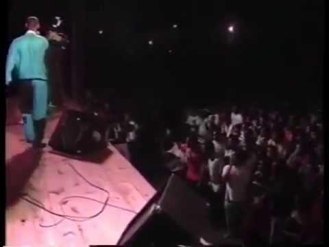 BIG LEAGUE REGGAE live stage show THRILLER U