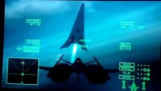 Ace Combat 5- Arkbird bug manuvers