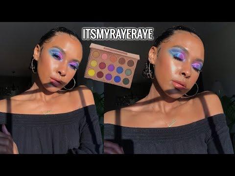 ItsMyRayeRaye x Bh Cosmetics ROUND 2   Talk Through Tutorial thumbnail