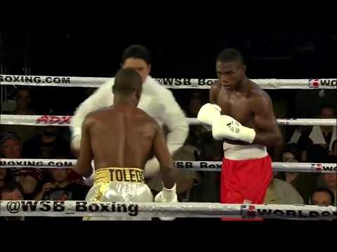 64kg Carlos ADAMES (USA Knockouts) vs Yasnier TOLEDO (Domadores de Cuba)
