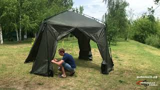 Обзор на шатер NASH Bank Life Gazebo