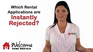Which Rental Applications Get Instantly Rejected