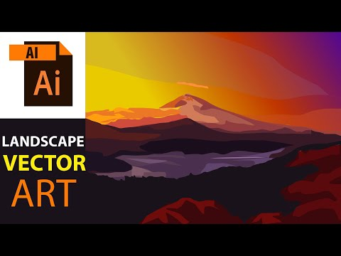How to paint mountain step by step | Speed art | digital painting