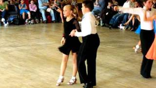 How to do kids ballroom and latin. Dance competitions in Ireland.