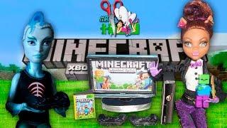 MINEСRAFT X-BOX 360 /ИГРОВАЯ ПРИСТАВКА для кукол Monster High, Barbie / Muza Rukodeliya 🌺