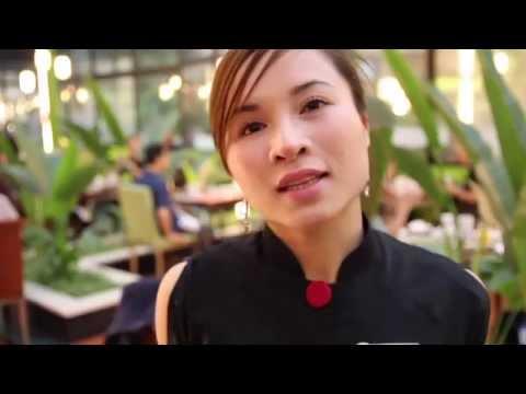 Hanoi, Vietnam alleys, restaurants, hotels