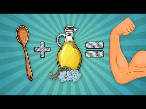 Всего одна ложка льняного масла в день и организм не узнать | Льняное масло польза и вред