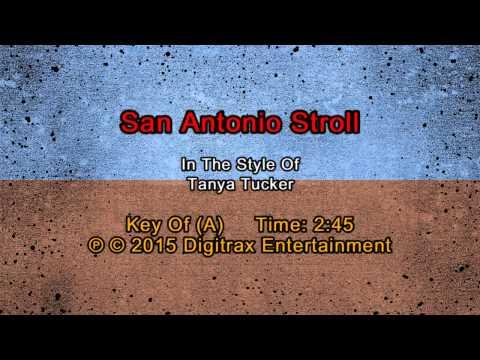 Tanya Tucker - San Antonio Stroll (Backing Track)