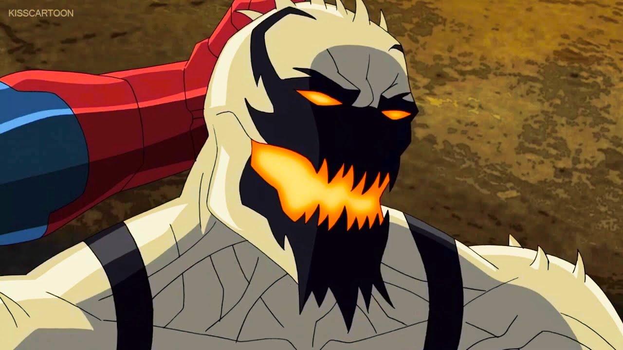 Anti Venom Vs Spider Man Vs Carnage.