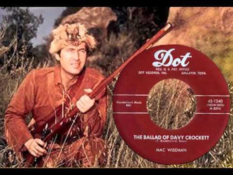 MAC WISEMAN - The Ballad of Davy Crockett (1955)