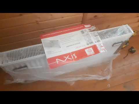 Обзор стального панельного радиатора AXIS, тип 22