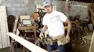 Building Bunk Beds In Ecuador