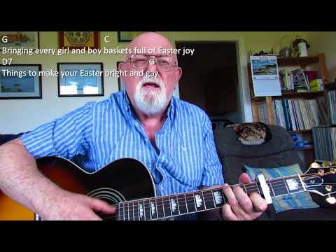 Guitar: Here Comes Peter Cottontail (Including Lyrics And Chords)