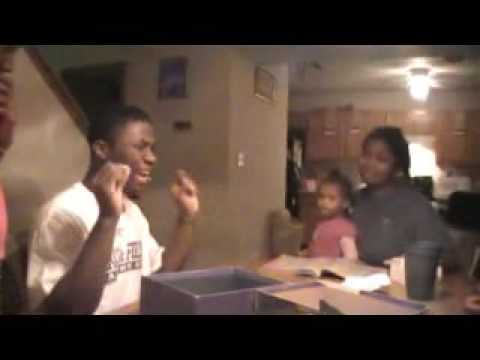 The brown  family  playing taboo in bloomington Travel Video