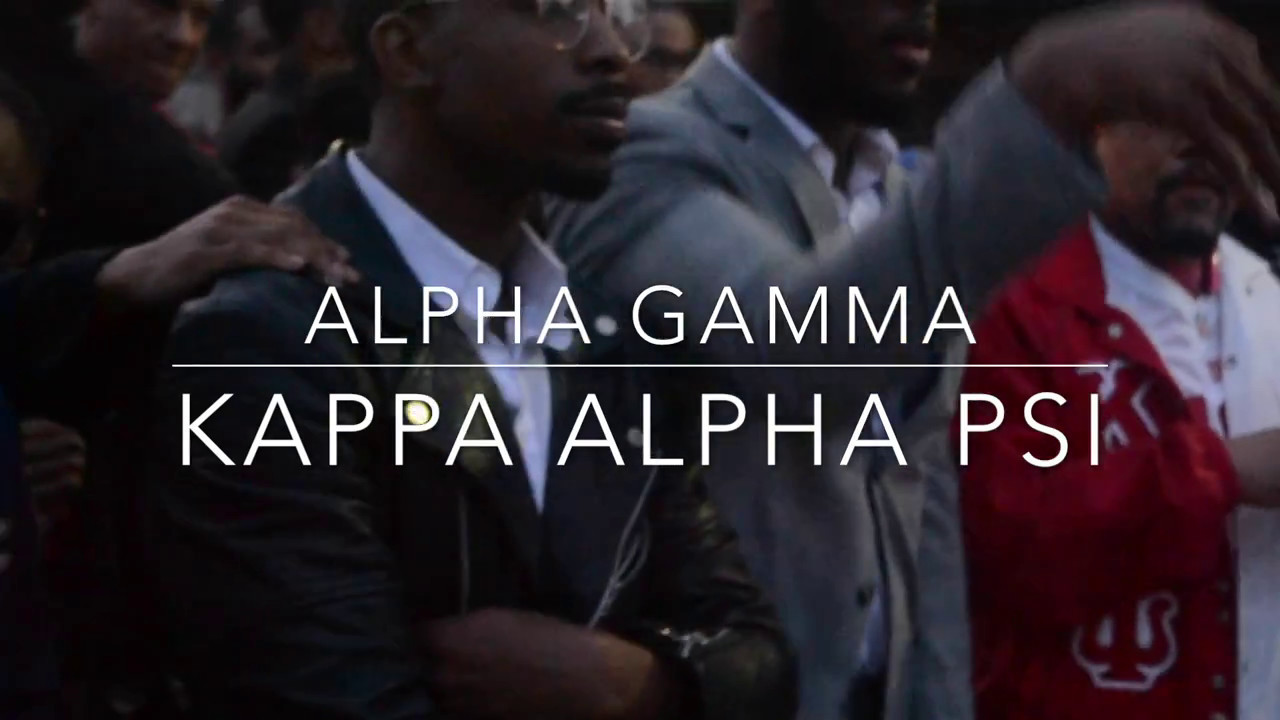 KAPPA ALPHA PSI (Infamous AG) PROBATE SPING16 (VIRGINIA UNION)