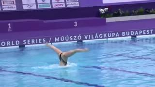 Варвара Субботина Произвольное Соло «КОШКА» World Series Budapest 2018