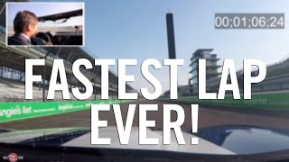 Record Breaking Lap - Grand Prix of Indianapolis