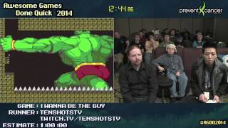 I Wanna Be The Guy :: SPEED RUN (0:35:27) by TenShotsTV #AGDQ 2014