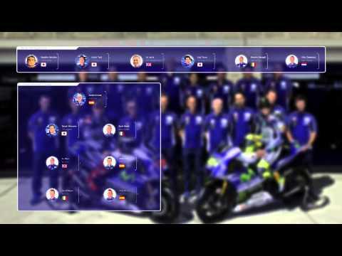 Meet the Movistar Yamaha MotoGP team