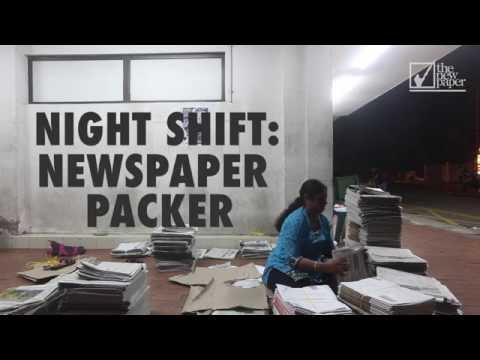 The Night Shift: Newspaper Packer