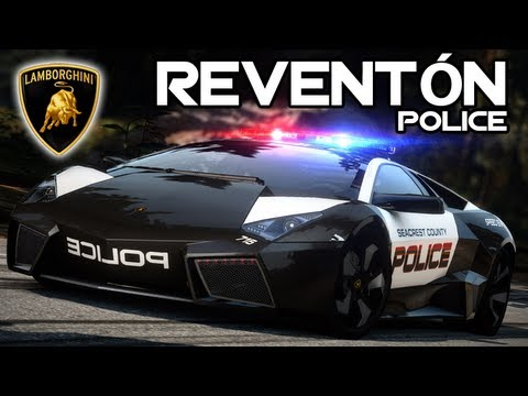 LAMBORGHINI REVENTN POLICE  NFS Hot Pursuit  YouTube