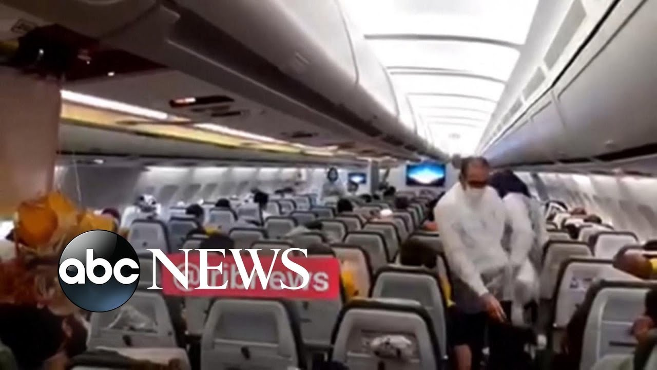 Midair close encounter between fighter jet and passenger plane   WNT – ABC News