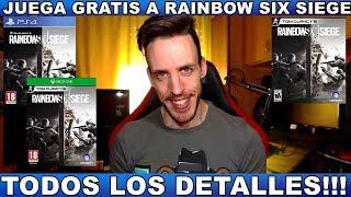 Video ¡¡¡JUEGA GRATIS A RAINBOW SIX SIEGE PS4/XBOX ONE/PC!!! Hardmurdog - Noticias - 2018 - Español download MP3, 3GP, MP4, WEBM, AVI, FLV Februari 2018