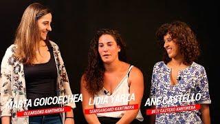 Entrevista a cantineras de Semisarga, Beti Gazte y Olearso 2019   Txingudi Online