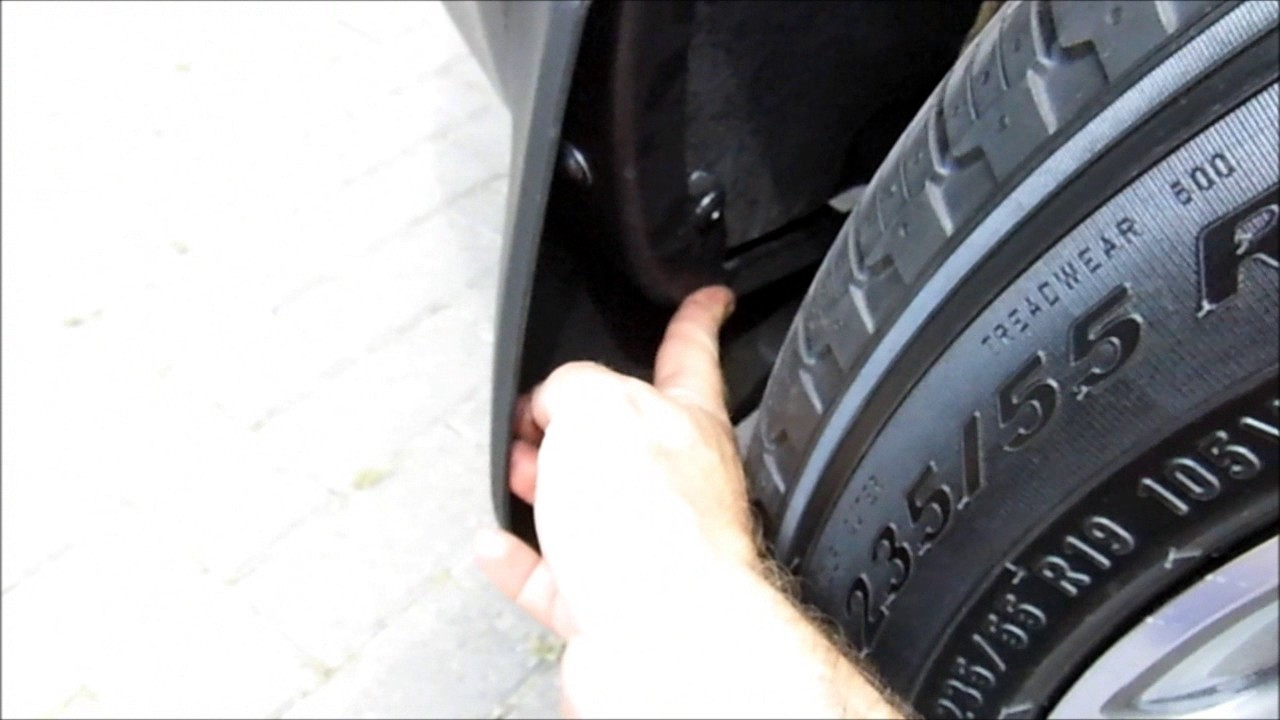 8 Seater Vehicles >> Land Rover Discovery Sport Rear Mudflaps - YouTube