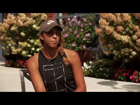 LIVE US Open Tennis 2017: Madison Keys Interview