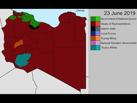 The Second Libyan Civil War: Every Day (May 2014 - Jun 2019)
