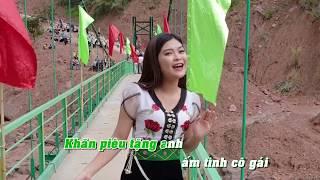 KARAOKE - NGƯỜI XÂY CẦU VÙNG CAO - Sáng tác: Bảo Trần | Xuân Trí