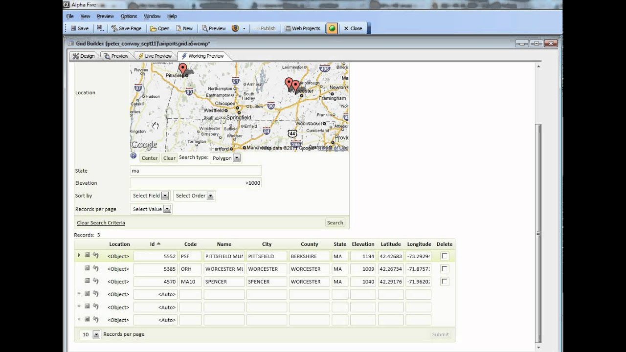 V11 Updating Geography Data Type Field Automatically When a Longitude or  Latitude Field is Changed 2