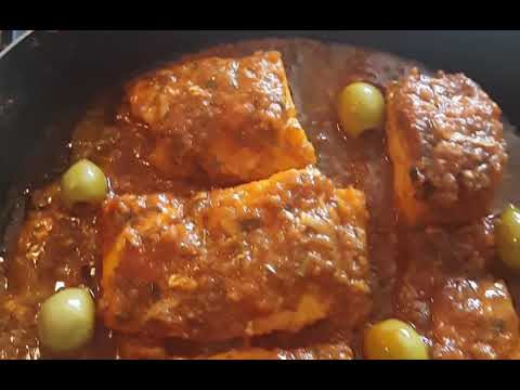 Cooking Moroccan Fish Tagine#TRAVELMe#Food