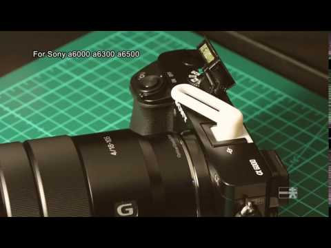 SONY A6000 hot shoe cover & bounce flash(adjustable)