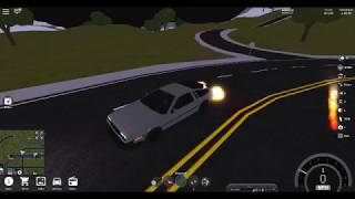 roblox Vehicle Simulator DMC Delorean 450 Km/h
