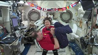 Expedition 60 InFlight with BBC World News and WRAL TV July 10, 2019