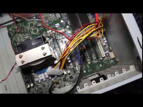 Install the Dell Precision T3600 in a standard enclosure