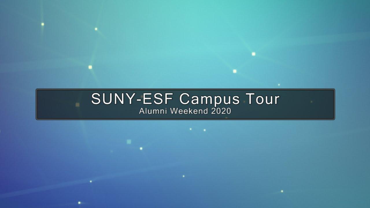 Image for ESF PRESENTS:  Virtual Campus Tour webinar