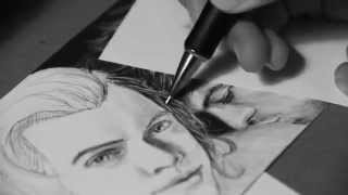 Harry and Louis speed drawing pt 1