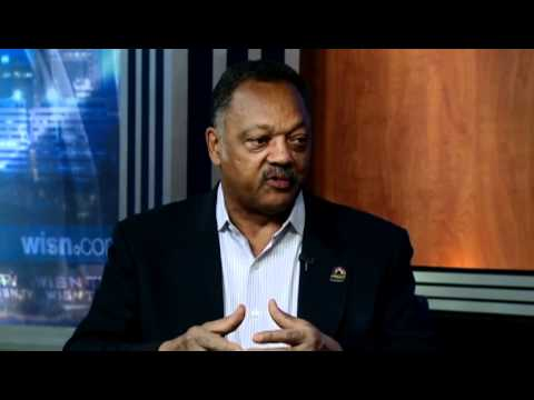 Rev. Jesse Jackson Talks Recall Election