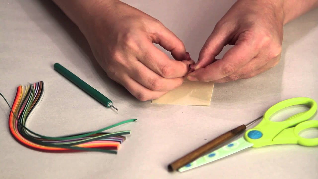 Making letters in quilling paper crafting techniques youtube altavistaventures Images