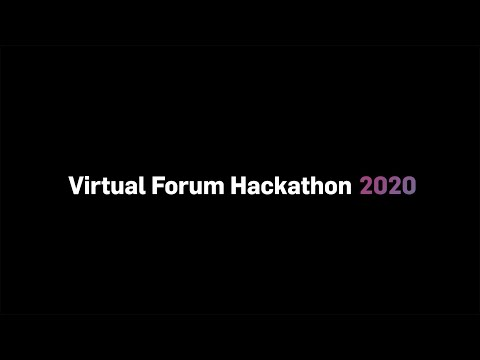 Virtual Masters Forum 2020 Hackathon Reveal